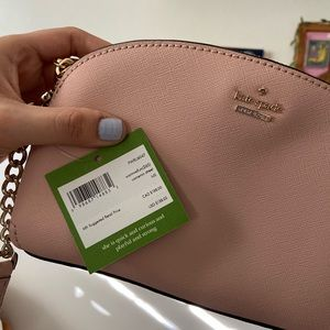 kate spade Bags - Spencer small dome crossbody (Pink)